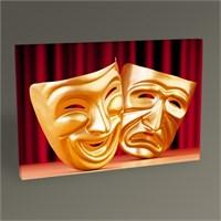 Tablo 360 Theatre Masks Tablo 45X30
