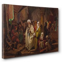 Tabloshop - A. Preziosi - The Grand Bazaar Tablosu