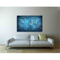 Artred Gallery 100X140 World Tablo