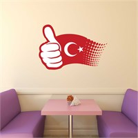 I Love My Wall Modern (Mdn-103)Sticker(Baykuş Sticker Hediye!)