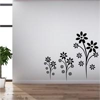 I Love My Wall Floral (F-316)Sticker(Baykuş Sticker Hediye!)