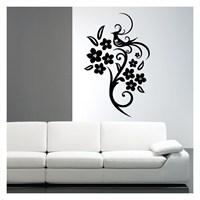 Artikel Cennet Kuşu Kadife Duvar Sticker Dp-046 ve Tuz boyama
