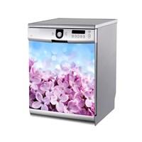 Artikel Mor Çiçekler Bulaşık Makinası Stickerı Bs-173