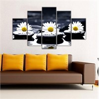 Ritmo Canvas Dekoratif Çiçek Canvas Tablo