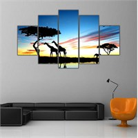 Ritmo Canvas Afrika Canvas Tablo