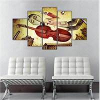 Ritmo Canvas Sürrealist Canvas Tablo