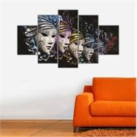 Ritmo Canvas Maskeler Canvas Tablo