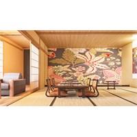Iwall Resimli Dekoratif Çiçekler Duvar Kağıdı 180X130