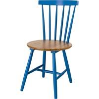 Sefes Melek Sandalye 4 Adet / Mavi
