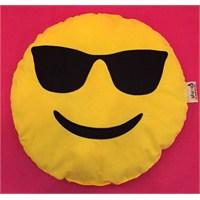 Pufumo Emoji Yastık ( Gözlüklü )