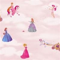 Golden Kids Nonwoven Prenses Desenli Kız Çocuk Odası Duvar Kağıdı