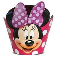 Pandoli Minnie Mouse 12 Li Muffin Kek Tacı