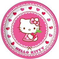 Pandoli Hello Kitty Hearts Tabak 23 Cm 8 Adet