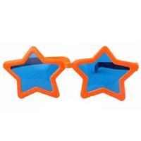 Pandoli Süperstar Yıldızlı Parti Gözlüğü Turuncu Renk