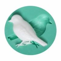 Kurdelya Minik Kuş Silikon Kalıp
