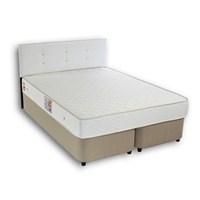 Derman Yatak Çift Kişilik Sandıklı Kumaş Baza + Başlık + Lüx Yatak 150*200