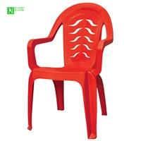 Bunjee Maksi Lüks Plastik Sandalye Kırmızı
