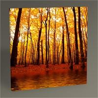 Tablo 360 Sonbahar Orman Gölü Tablo 30X30