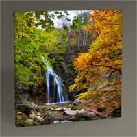 Tablo 360 Waterfall İn The Autumn 30X30