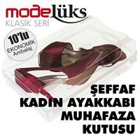 Modelüx Klasik Bayan Ayakkabı Kutusu 10'lu
