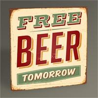 Tablo 360 Free Beer Tablo 30X30