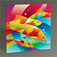 Tablo 360 Fish Tablo 30X30