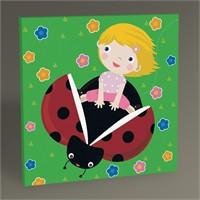 Tablo 360 Uğur Böceği Ve Çocuk Tablo 30X30