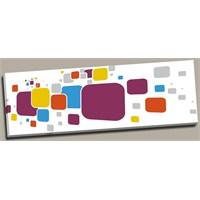 Arte 120x40 cm Dekoratif Kanvas ( canvas ) Tablo ve 30x30 cm Tablo Saat HEDİYE