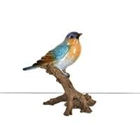 Lucky Art Renkli Kuş Biblo - 17Cm