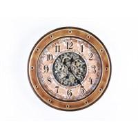 Lucky Art Gold Mekanizmalı Duvar Saati - Uc 006