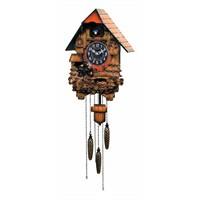 Regal Kw-908 Büyük Boy Ahşap Guguklu Duvar Saati
