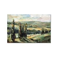 Tictac Issız Doğa Kanvas Tablo - 40X60 Cm