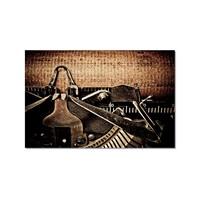 Tictac Daktilo Kanvas Tablo - 40X60 Cm