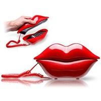 Kırmızı Dudak Telefon