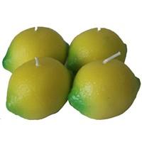 Pandoli 4 Adet Limon Figürlü Mum