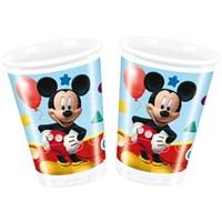 Parti Şöleni Mickey Mouse Bardak 8 Adet