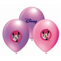 Parti Şöleni Minnie Mouse Balon 20 Adet