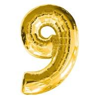 Parti Şöleni 9 Folyo Balon Gold 1 Adet