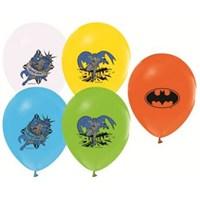 Parti Şöleni Batman Balon 20 Adet