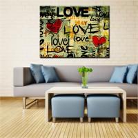 Canvastablom Kr146 Love Kanvas Tablo