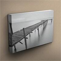 Canvastablom T65 Ahşap Köprü Kanvas Tablo