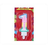 Kullanatmarket 1 Yaş Doğum Günü Mum 1 Adet