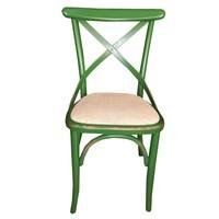 Albero Home 2' Li Eskitilmiş Hasırlı Sandalye