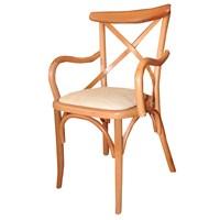 Albero Home 2' Li Kolçaklı Thonet Sandalye