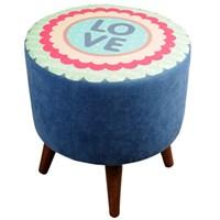 Dolce Home Puf Love- Mavi