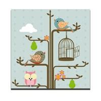 Dolce Home Dekoratif Tablo Kuşlar-2 Dg1b1k20m14