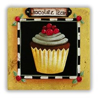 Oscar Stone Cupcake Pecan Taş Tablo