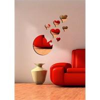 Dekoratif Kırılmaz Ayna Kalpler - 1