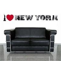 Eurographics I Love New York 50X70 Cm Duvar Sticker