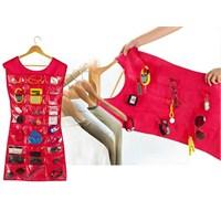 Elbise Şeklinde Takı-Mücevher Organizeri